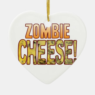 Zombie Blue Cheese Christmas Ornament
