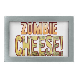 Zombie Blue Cheese Rectangular Belt Buckle