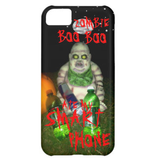 ZOMBIE BOO BOO ATE MY SMART PHONE iPhone 5C COVER
