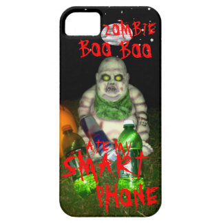 ZOMBIE BOO BOO ATE MY SMART PHONE iPhone 5 COVERS
