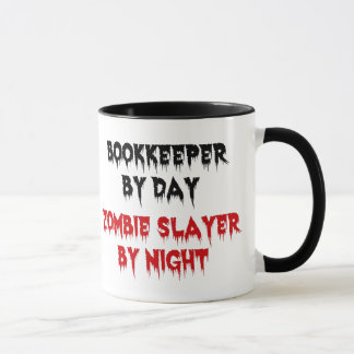 Zombie Bookkeeper Mug
