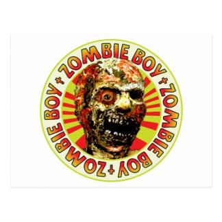 Zombie Boy Postcard