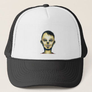 Zombie Boy Smiling Trucker Hat