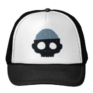 Zombie Brain Blue Trucker Hats