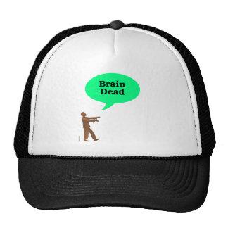 Zombie Brain Dead Trucker Hats