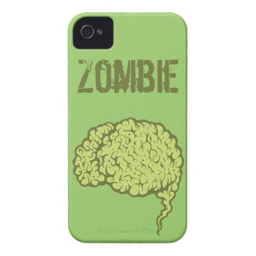 Zombie Brain iPhone 4 4s Case Sleeve iPhone 4 Cover