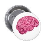 Zombie Brain Pinback Buttons