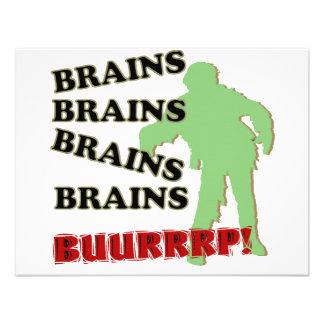 Zombie Brains Brains Brains Burp Announcements