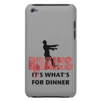 Zombie Brains Dinner iPod Case-Mate Cases
