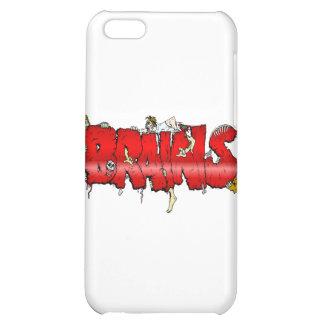 Zombie BRAINS iPhone 5C Cases