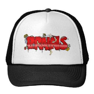 Zombie BRAINS Mesh Hats