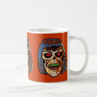 Zombie Bride - Vintage Halloween Mask Coffee Mug