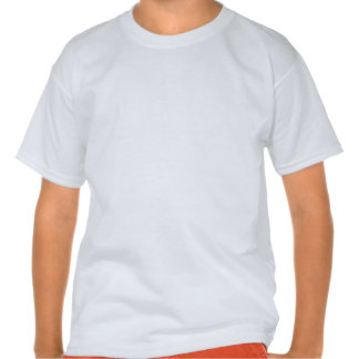 Zombie Bright Rainbow Stripes Tee Shirt