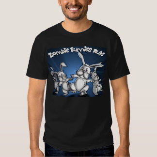 Zombie Bunnies! - Customized T Shirt
