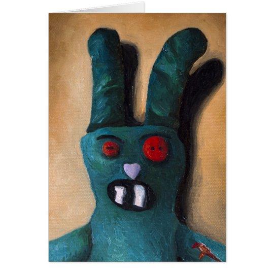 Zombie Bunny Retake Card