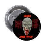 Zombie Button! Pinback Button