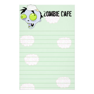 Zombie Cafe Stationery