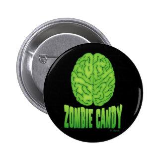 Zombie Candy 6 Cm Round Badge