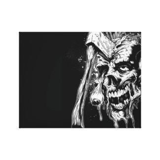 Zombie Canvas 1 Canvas Print