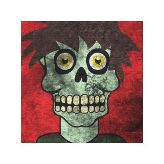 Zombie Canvas Art