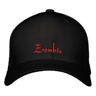 Zombie Cap / Hat Embroidered Cap