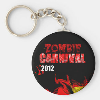 Zombie Carnival 2012 Keychain