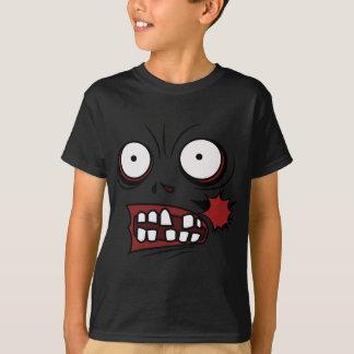 zombie cartoon face zombie T-Shirt