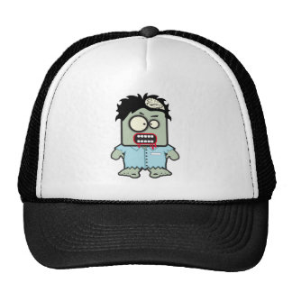 Zombie Cartoon Mesh Hat