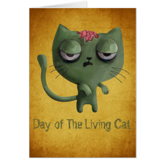 Zombie Cat Cards