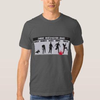 Zombie chart T-shirt