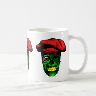 Zombie Chef Skull v2 Basic White Mug