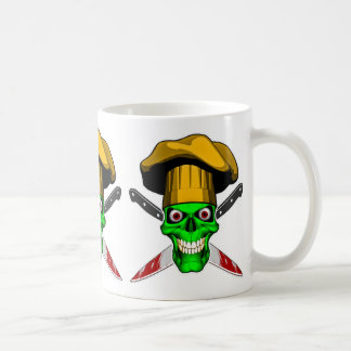 Zombie Chef Skull v3 Coffee Mug