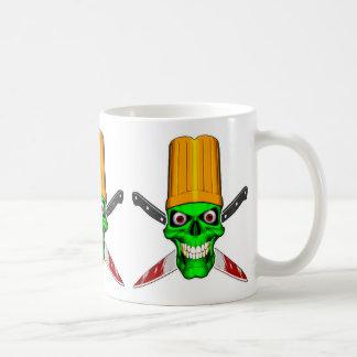 Zombie Chef Skull v4 Coffee Mug