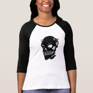 Zombie Chic Ladies Fitted Baseball Jersey T-shirts