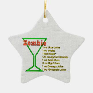 Zombie Christmas Ornament