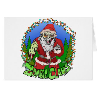 Zombie Claus Card
