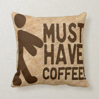 Zombie Coffee Cushion