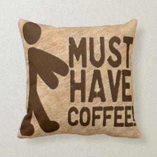 Zombie Coffee Cushion