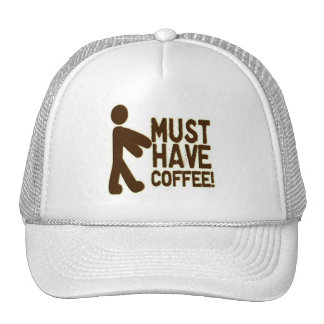 Zombie Coffee Trucker Hats