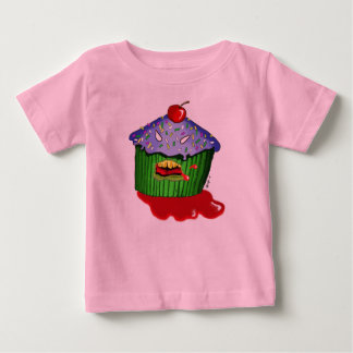 zombie colour cupcake baby T-Shirt