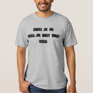 zombie comment tee shirts