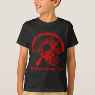 Zombie Containment Unit - Outbreak Control Team T-Shirt