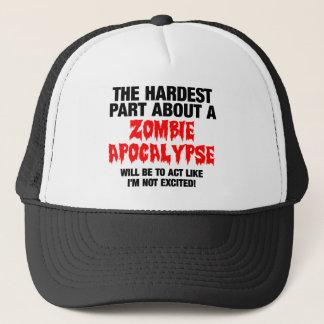 Zombie Cool Design Trucker Hat