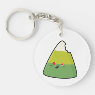 Zombie Corn Key Ring