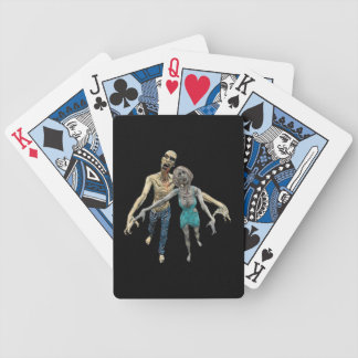 Zombie Couple Bicycle Playing Cards