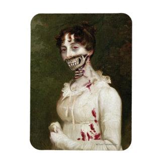 Zombie Cover Rectangular Photo Magnet