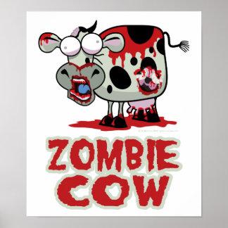 Zombie Cow Print