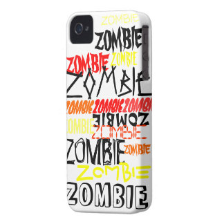 ZOMBIE CRAZE iPhone 4 CASES