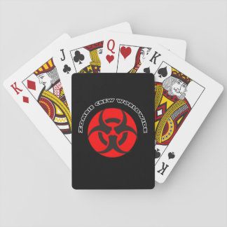 Zombie Crew Worldwide Playing Cards
