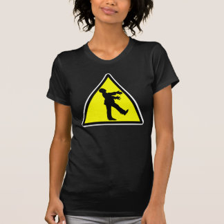 Zombie Crossing Destroyed T-shirt